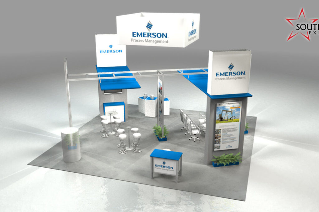 Emerson Process Management Booth