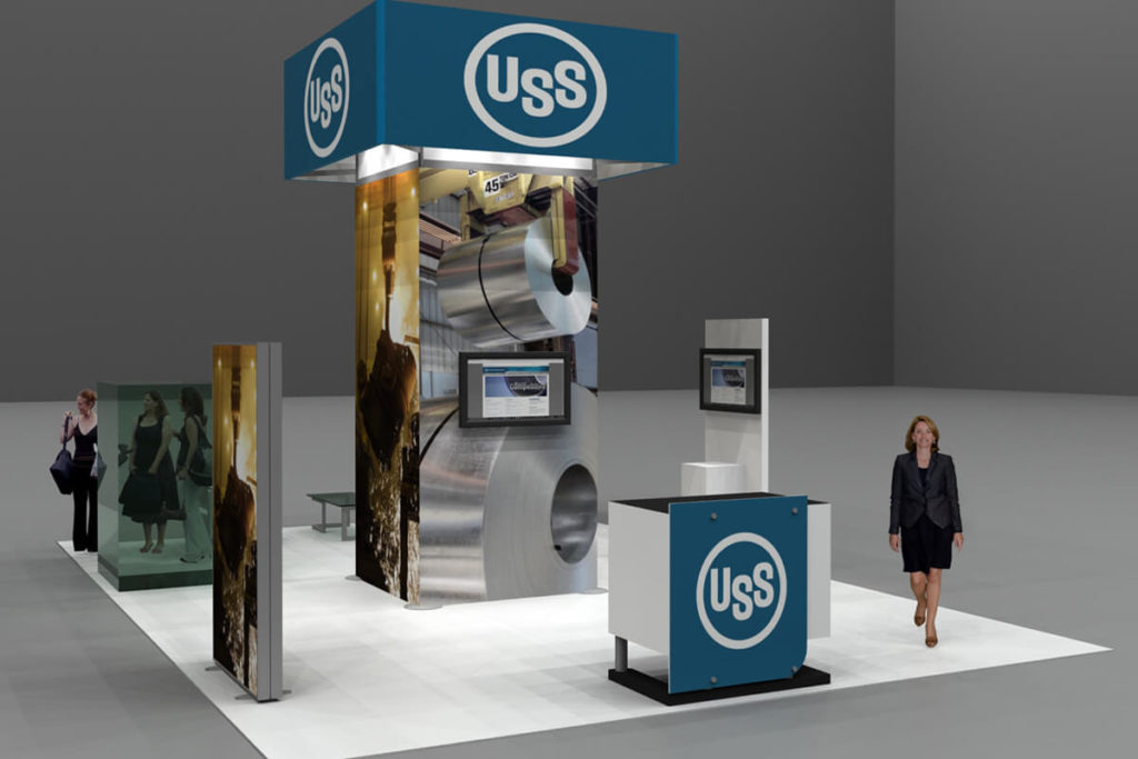 US Steel Trade Show Booth