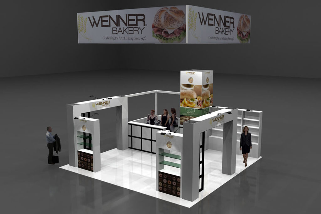 Wenner Bakery Trade Show Booth